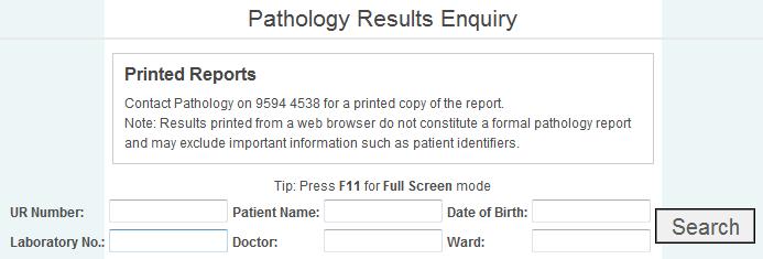 Pathology Search